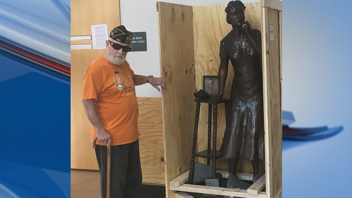 The Gold Star Mother's statue will be unveiled at Veterans Memorial Park on Sept. 27