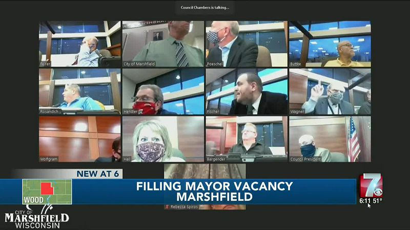 Marshfield Common Council mulls options for replacing vacant mayor position