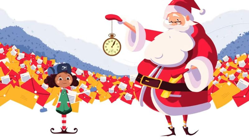 USPS is launching Operation Santa Letter where children can send or upload letters to Santa and...