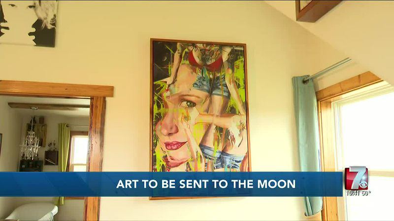 Art to be Sent to the Moon 4/11/2021