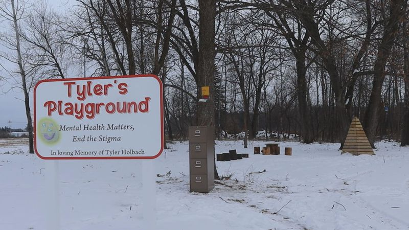 Tyler's Playground looks to give a safe place to talk about mental health, and remember Tyler...