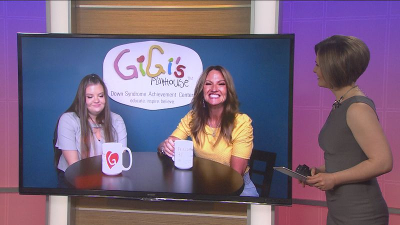 Nancy Gianni and her daughter GiGi talk about an event to spread acceptance for individuals of...