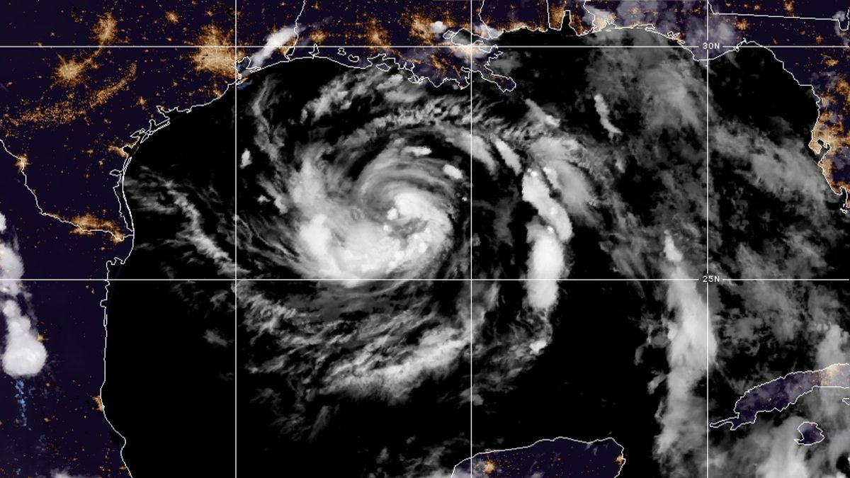 Tropical Storm Hanna formed late Thursday in the Gulf of Mexico, about 385 miles (620 kilometers) east, southeast of Corpus Christi, Texas, according to the 10 p.m. CDT advisory from the National Hurricane Center.