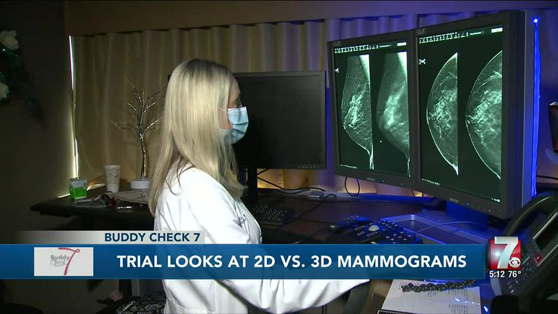 Clinical trial aims to determine if 2D or 3D mammograms are more beneficial