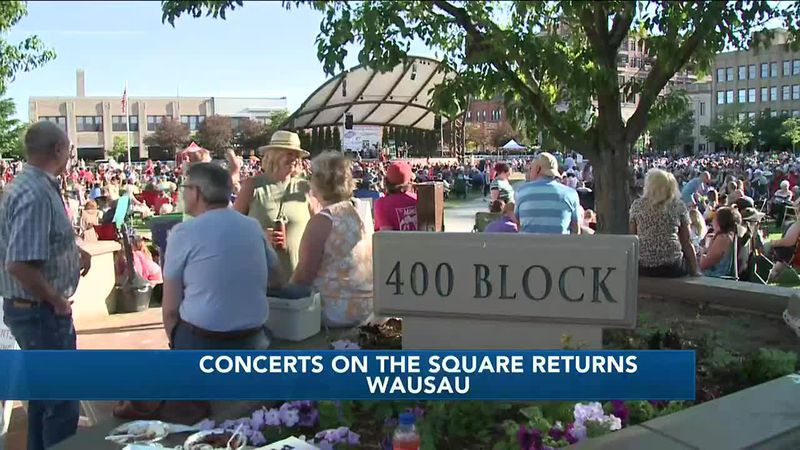 Concerts on the Square returns 6/16/2021