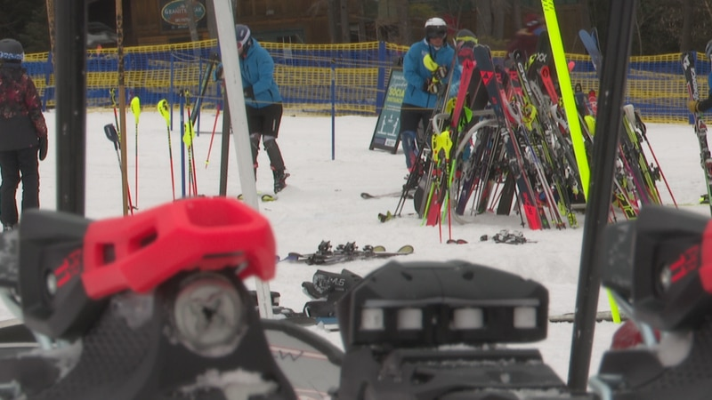 The resort says they've seen more skiers come out so far than in years past.
