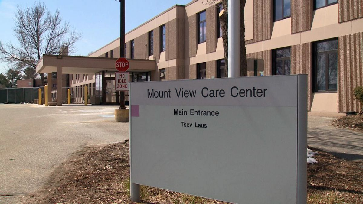 Mount View Care Center, April 19, 2020 (WSAW Photo)