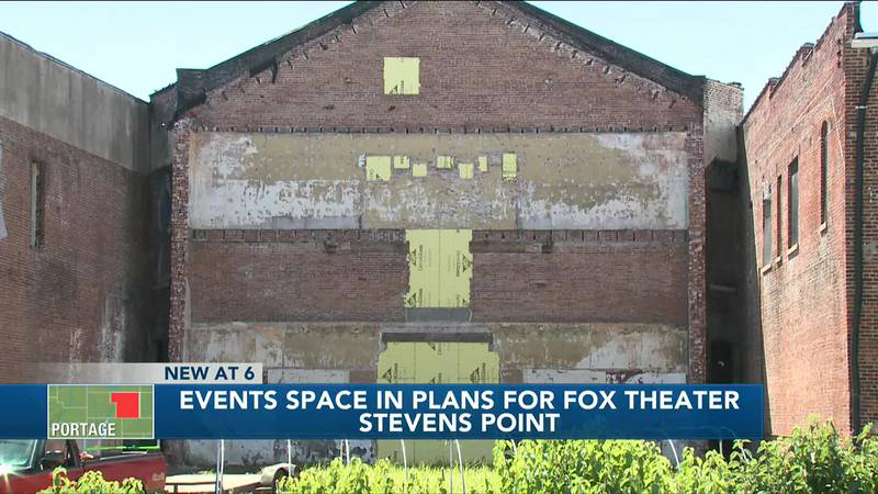 Former Fox Theater in Stevens Point could be transformed into events space