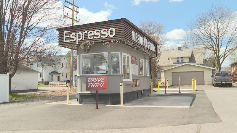 Coffee kiosk raises money for neighbors in need