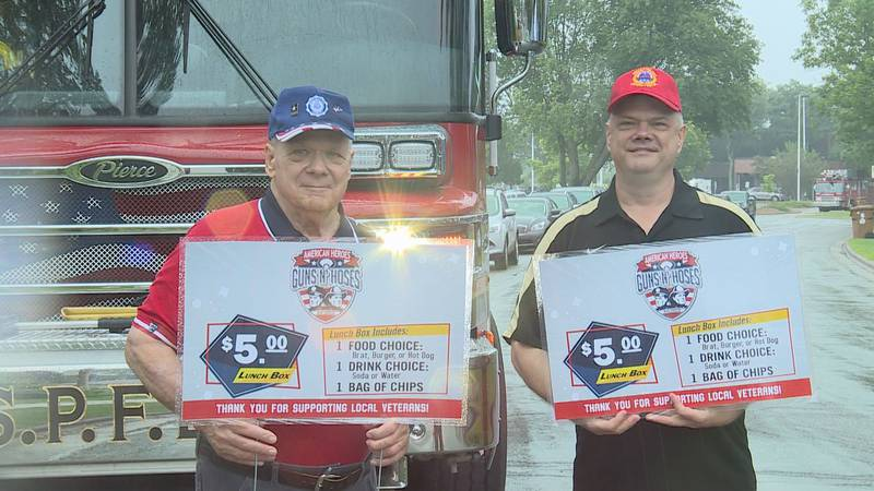 Guns and Hoses of Portage County hosts cookout to help veterans