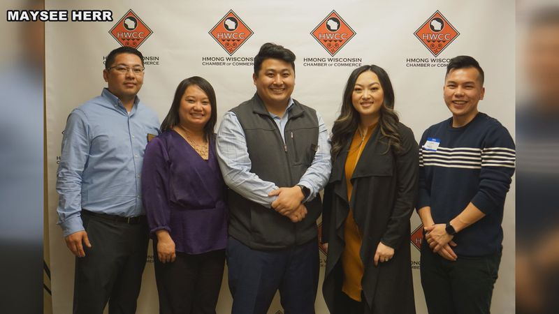 Hmong Wisconsin Chamber of Commerce staff