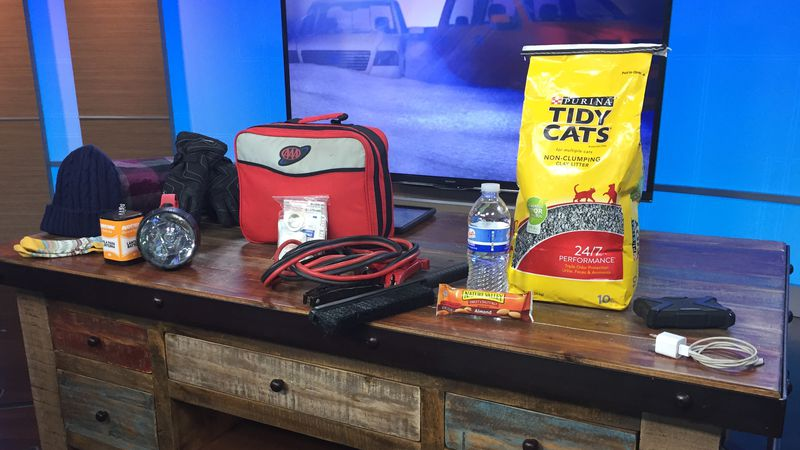 Items to include in your winter survival kit