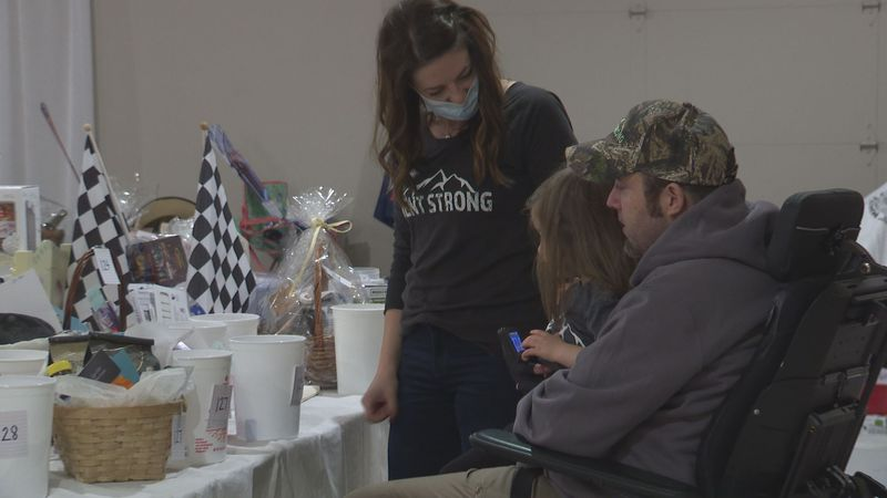 Benefit raises funds for man paralyzed after deer hunting accident