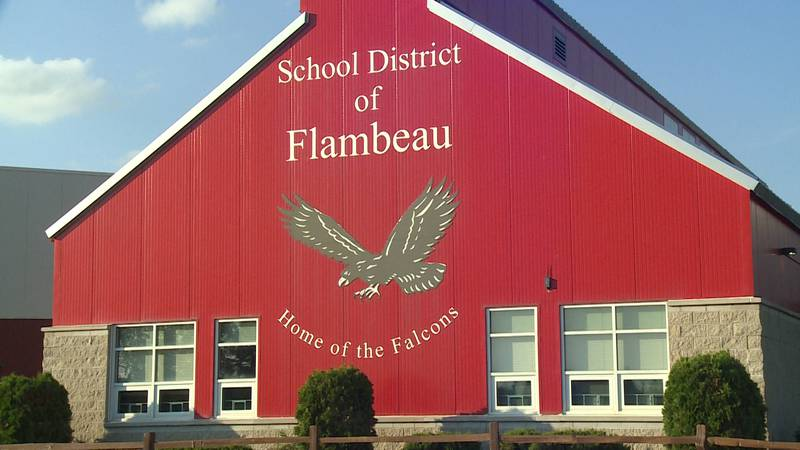 The Flambeau School District building in Rusk County, Wis.