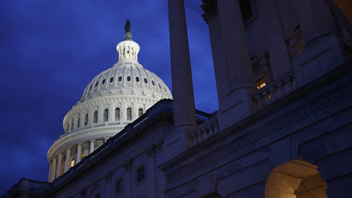 This June 12, 2019 file photo shows the U.S. Capitol dome in Washington. (AP Photo/Patrick...