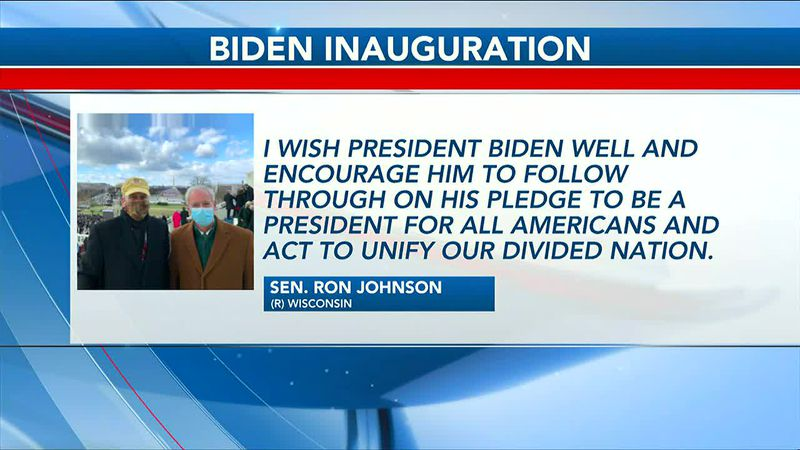 Local officials react to Biden/Harris Inauguration