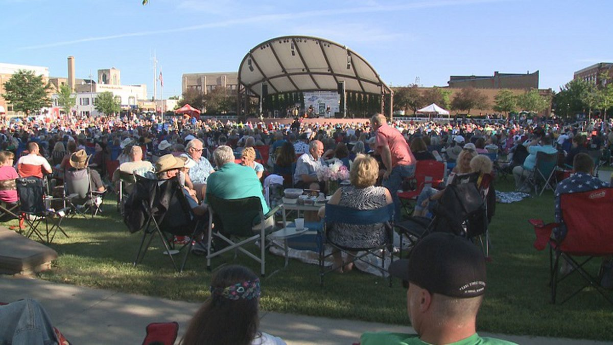 Concerts on the Square and Dining on the Street canceled for Wednesday, July 28, 2021.