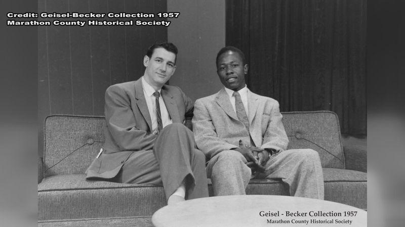 Mark Zelich and Hank Aaron