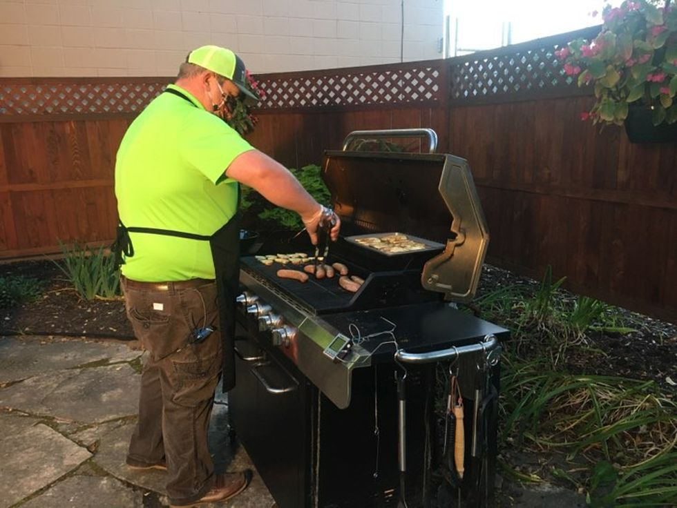 Grilling with Sunrise 7: Grilled apples