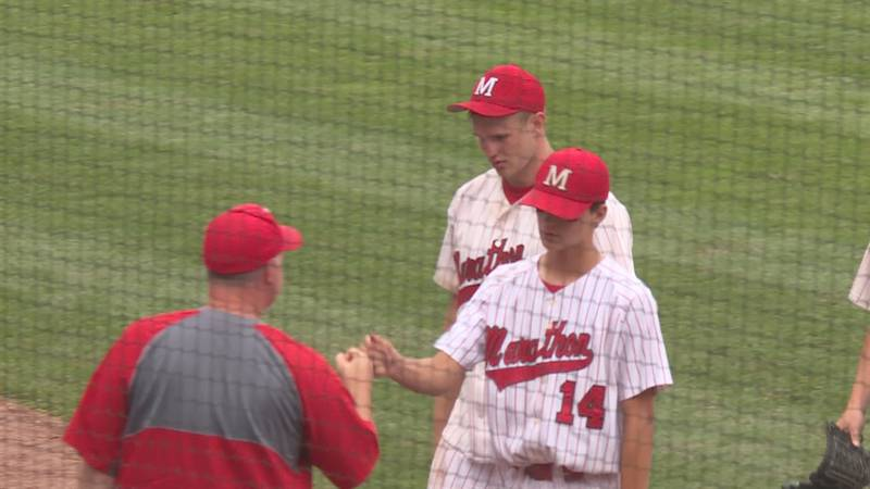 Marathon finished its season with a 19-8 record after falling in the WIAA State Baseball...