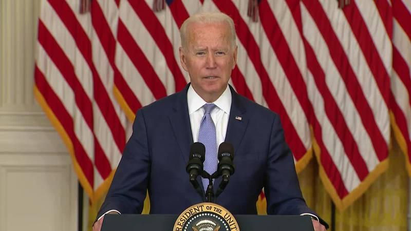 President Joe Biden said, according to a study, pharmaceutical companies spent $56 billion more...