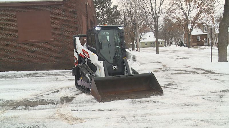 Snow removal companies did their best to stay ahead of the storm before it reached Wausau...