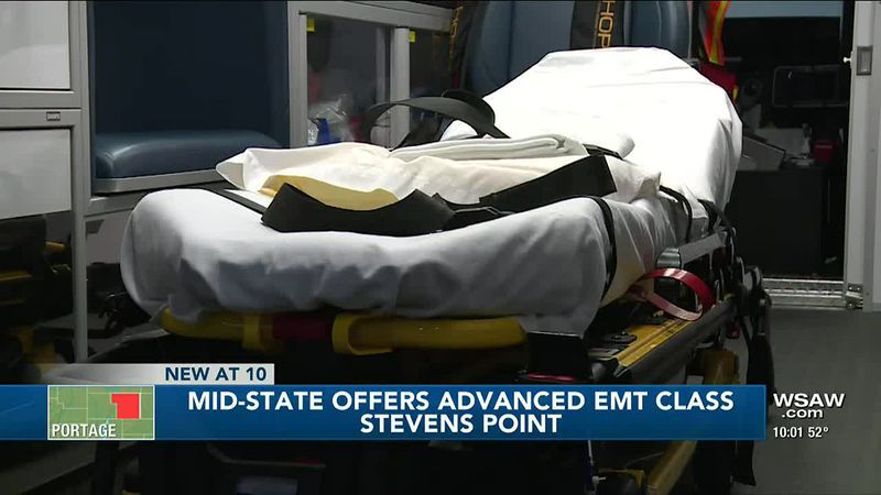 Mid-State Offers Advanced EMT Class 5/6/2021