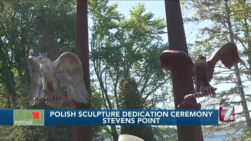 Polish Sculpture Dedication Ceremony