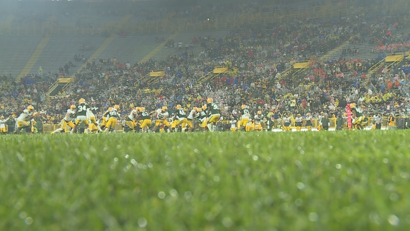 Thousands of fans came to Lambeau Field to witness Family Night.