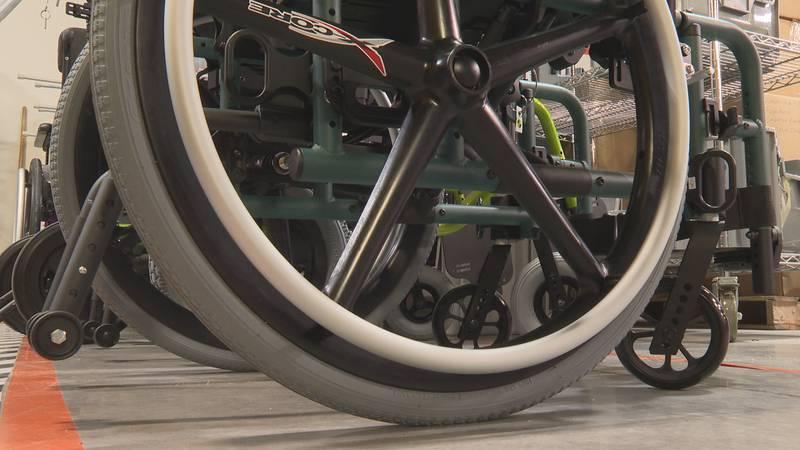 Wheelchair at Ki Mobility.