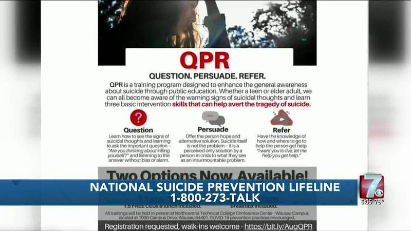 Program in Marathon County designed to enhance suicide awareness