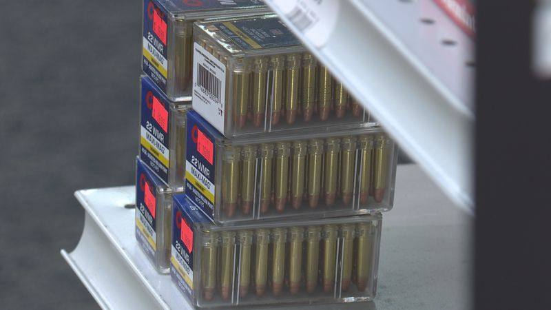 Ammunition is running in short supply.