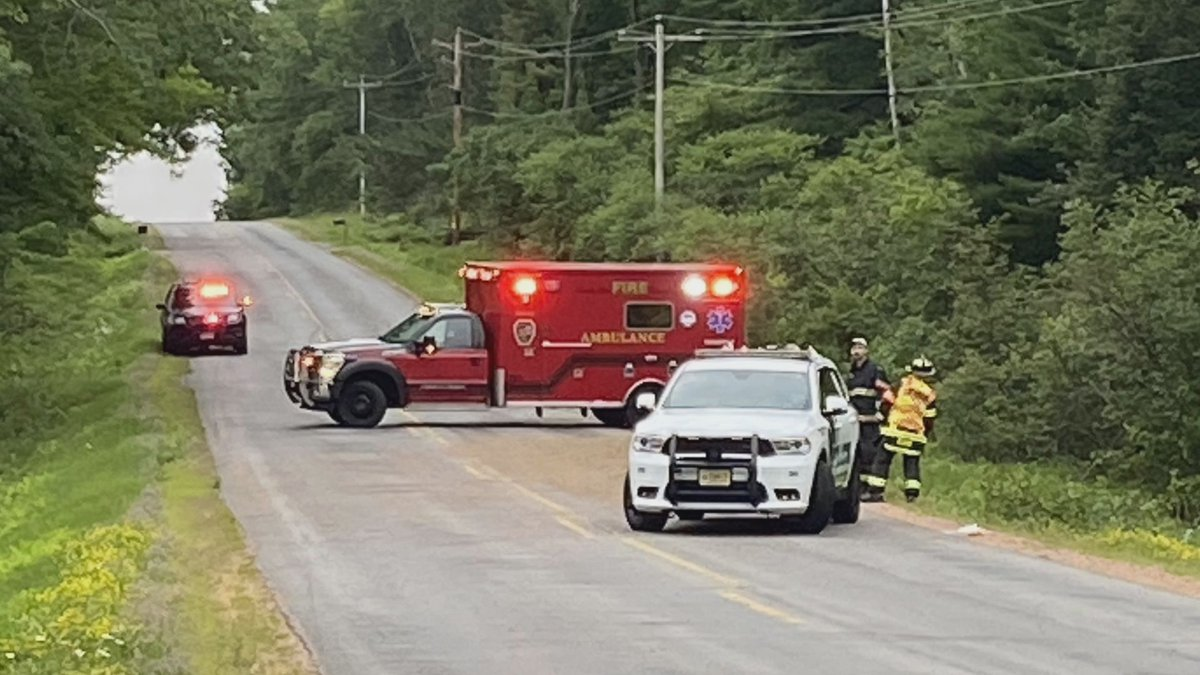 Crews responded to a single-vehicle crash on Maple Ridge Road in Kronenwetter on Wednesday.