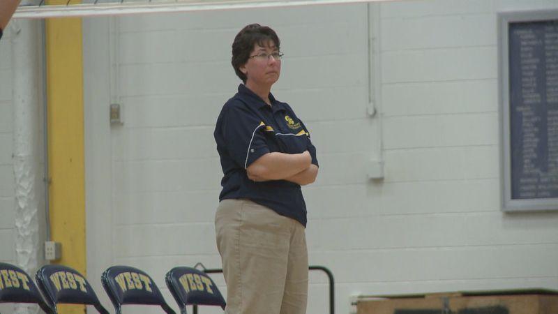 Wausau West volleyball coach Cathy Newton steps down.