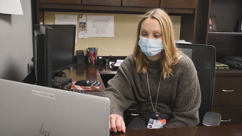 Jessica Wilke works remotely to comfort families of COVID-19 patients