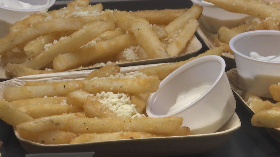 Lambeau Field has new concessions for the 2021 season, such as Feta French Fries with Greek...