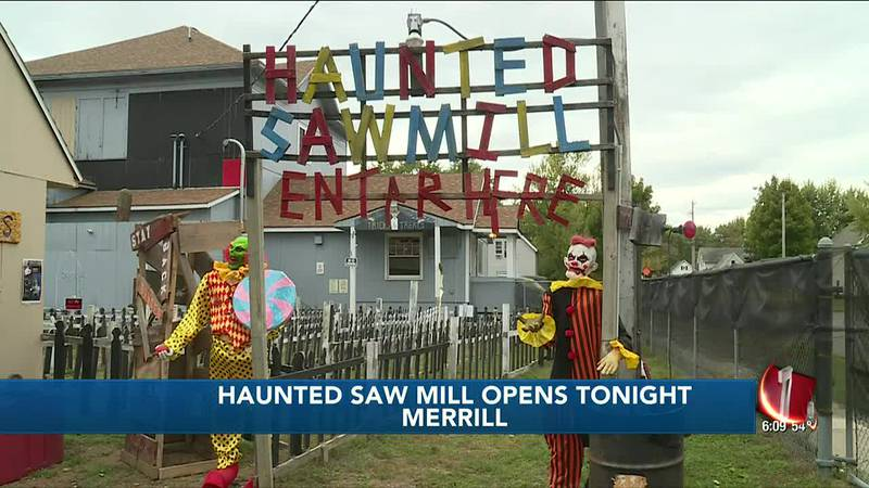 Haunted Sawmill opens for the season in Merrill