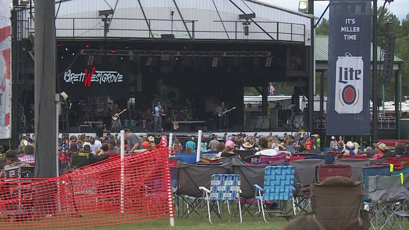 Hodag Country Festival in Rhinelander kicked off Thursday, July 8 for the four day event. The...