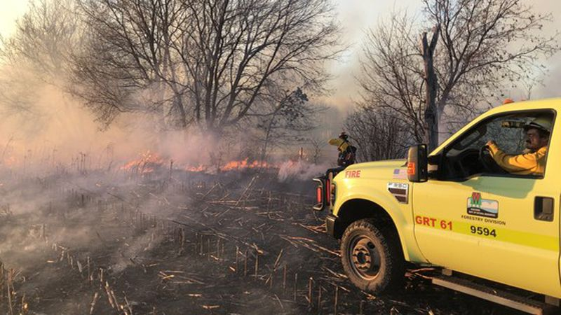 Fire control officials expect to see even more fires over the weekend with dry and windy...