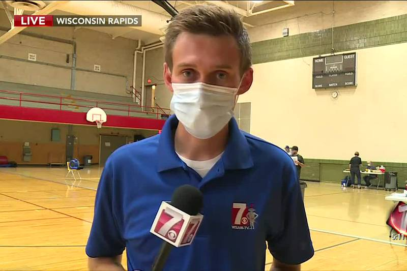 Back to school vaccination clinic set up at East Junior High in Wisconsin Rapids