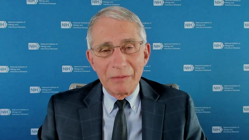 """Dr. Anthony Fauci calls the notion of 200,000 deaths """"sobering."""""""