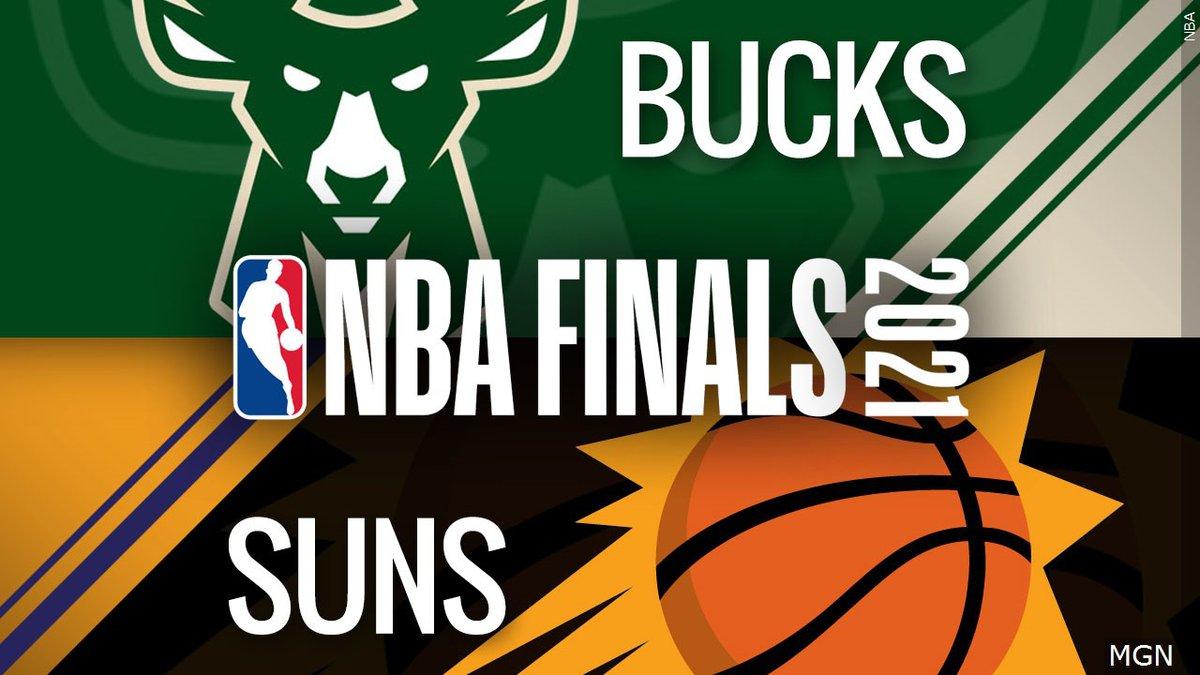 2021 NBA Finals. Bucks vs. Suns.