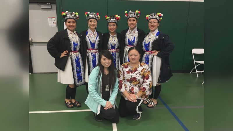 The history of Hmong cultural dancing is remembered for Hmong Heritage Month this April