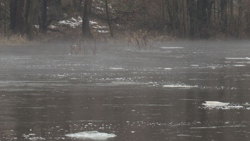Springtime can bring flooding to low lying areas.