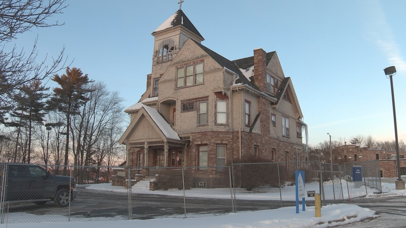 After  a wrecking permit was obtained to demolish the T.B. Scott mansion, Merrill residents are...