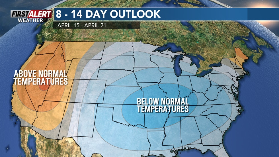 After summer like temps to begin the month, things will cool off substantially by the middle of...