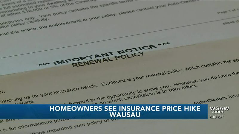 Homeowners likely to see higher insurance rates due to higher building costs
