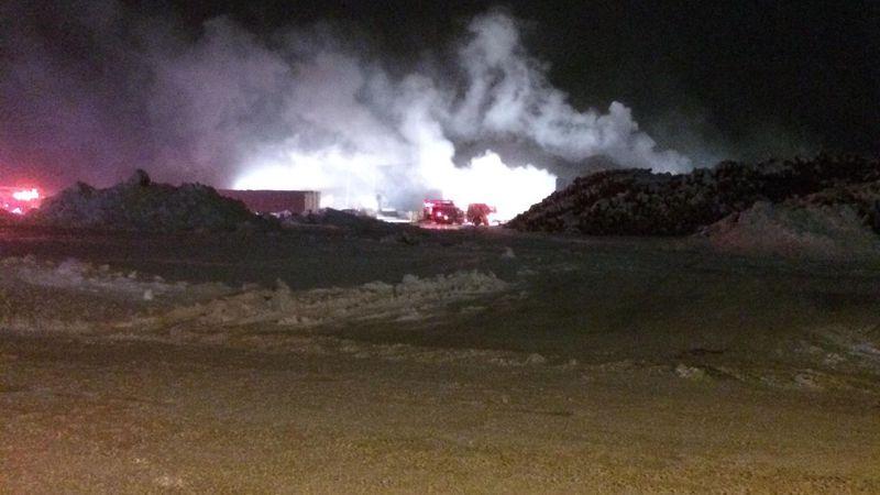 Fire at Dejno's   (Feb. 11, 2021)