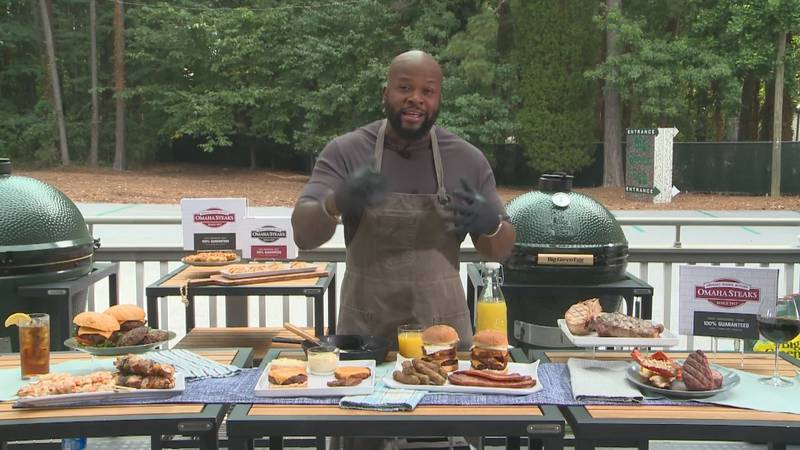Chef David Rose shares recipes for delicious grilled meats from Omaha Steaks