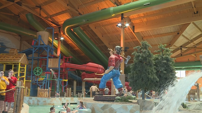 How the waterpark looked in 2018